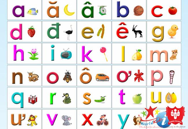cách dạy trẻ 4 tuổi học chữ cái