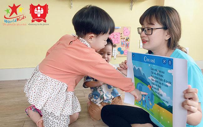phát triển tư duy cho trẻ mầm non 1 - 3 tuổi