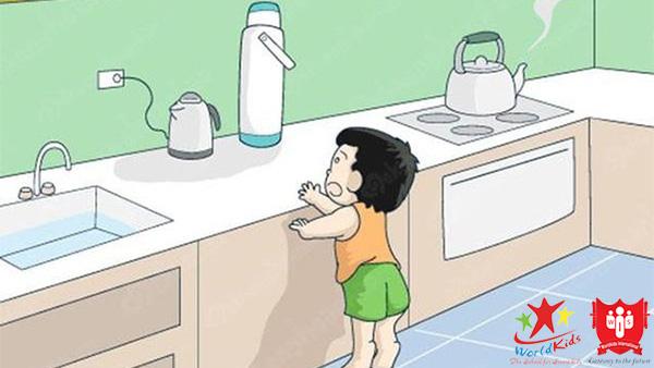 cách sơ cứu khi trẻ bị bỏng