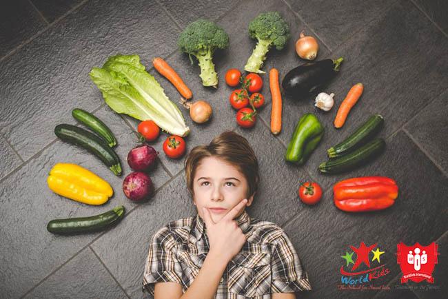 chế độ dinh dưỡng cho trẻ mầm non