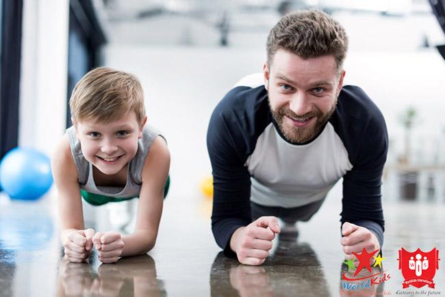 chế độ tập luyện cho trẻ béo phì