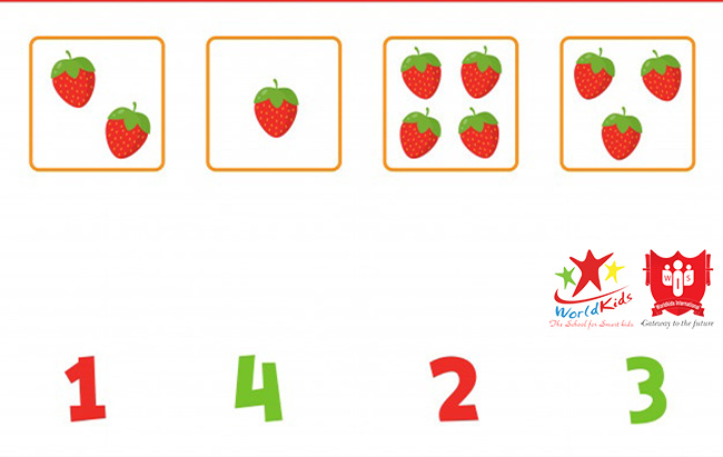 phương pháp dạy trẻ 4 tuổi học toán
