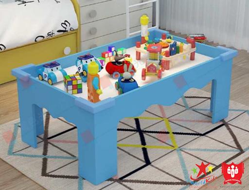 đồ chơi montessori bàn cảm giác