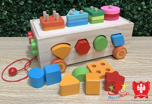 đồ chơi montessor khối đa năng