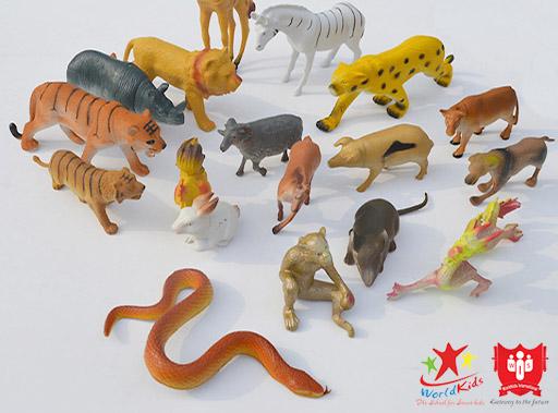 đồ chơi montessori mô hình động vật