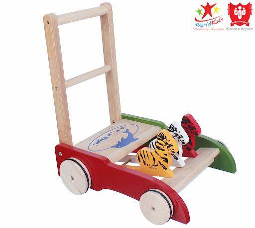 đồ chơi montessori xe đẩy