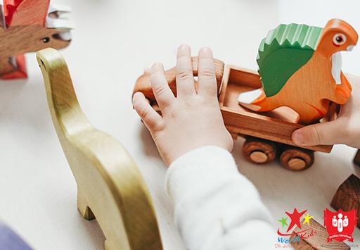 Phương pháp giáo dục Steiner đề cao việc vui chơi sáng tạo ở trẻ