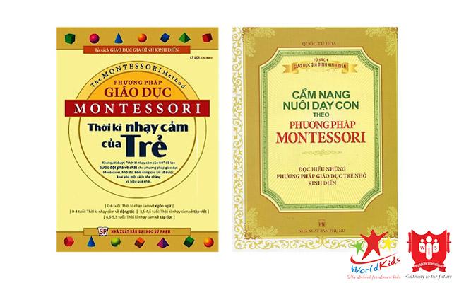 sách giáo dục theo phương pháp montessori
