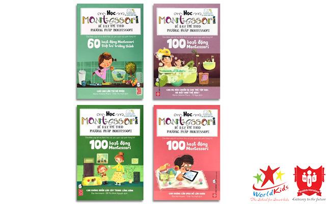 sách montessori học montessori