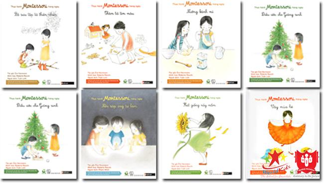 sách thực hành montessori hàng ngày