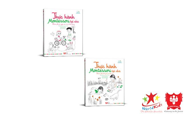 sách thực hành montessori tại nhà