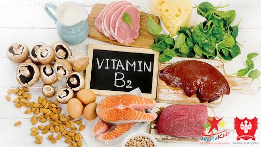 thực phẩm giàu vitamin b2