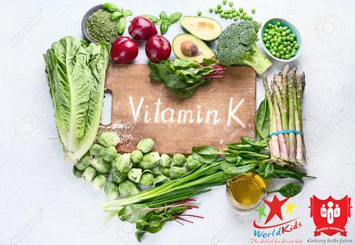 thực phẩm giàu vitamin k